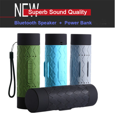 WaterProof Bluetooth Speaker Portable Outdoor Speaker Shockproof Dustproof with Long Time Battery for Outdoor Sport Hiking
