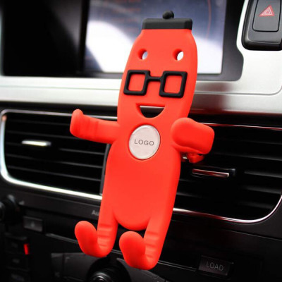 Auto Wall Fly 360 Degree Cap Silicone Phone Holder