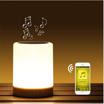 Mini Portable Multi Bluetooth Speaker Smart Touch LED Colorful Light