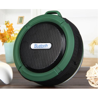 Waterproof Bluetooth Speaker Wireless Subwoofer Shower Outdoor Car Speakers Handsfree Call Music Suction