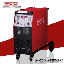 TOPWELL脉冲MIG / MMA焊机ALUMIG-300P三相脉冲