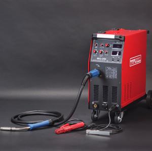 ตัวแปลงอินพุท IGBT 250amp / 300amp แบบหนักรุ่น MIG-250i / 300i