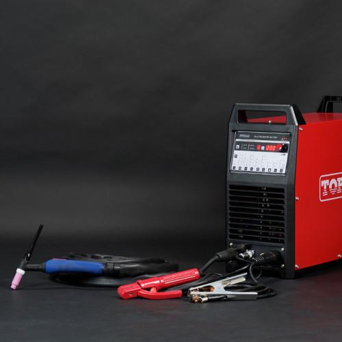 AC DC DC脉冲TIG焊机ALUTIG-200P用于铝ALUTIG-200P / 200MV