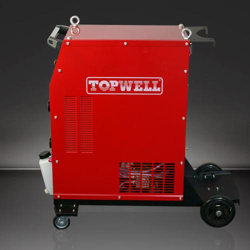 强大的AC / DC氩弧焊机MasterTIG -500CT适用于所有TIG作业