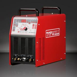 TOPWELL เครื่องเชื่อมอาร์กเชื่อมด้วยระบบไฟฟ้า ac dc และเครื่องตัดพลาสม่า STC-205AC / DC