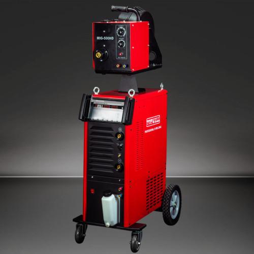 synergic,Pulse MIG焊机MIG-350HD / 500HD