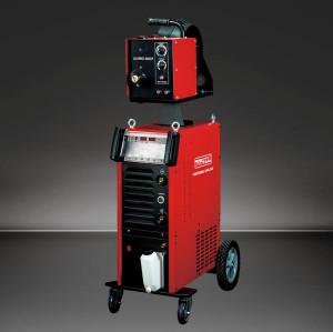 อุตสาหกรรมเครื่องเชื่อมอลูมิเนียม 3 เฟส 500amp Pulse MIG (ALUMIG-500CP)