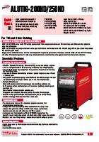 ALUTIG 200P 200MV 200HD 250HD