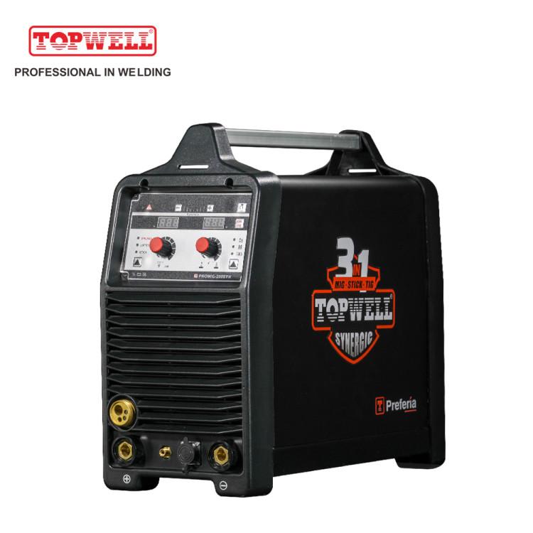 PROMIG-200SYN  3in1 tig mma mig welding machine