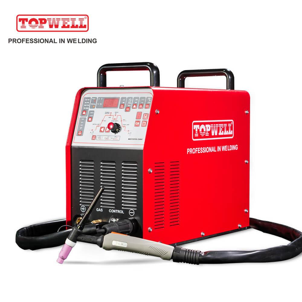 250a Portable Aluminium Ac Dc Mix Tig Welding Machine Mastertig 250ac Topwell