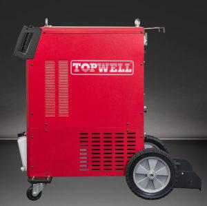 Topwell cheap maquina de soldar gas mig welder Alumig-500CP