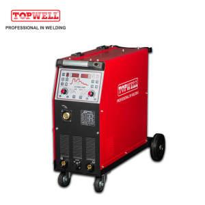 TOPWELL aluminum welding expert double pulse mig welding machine ALUMIG-250P