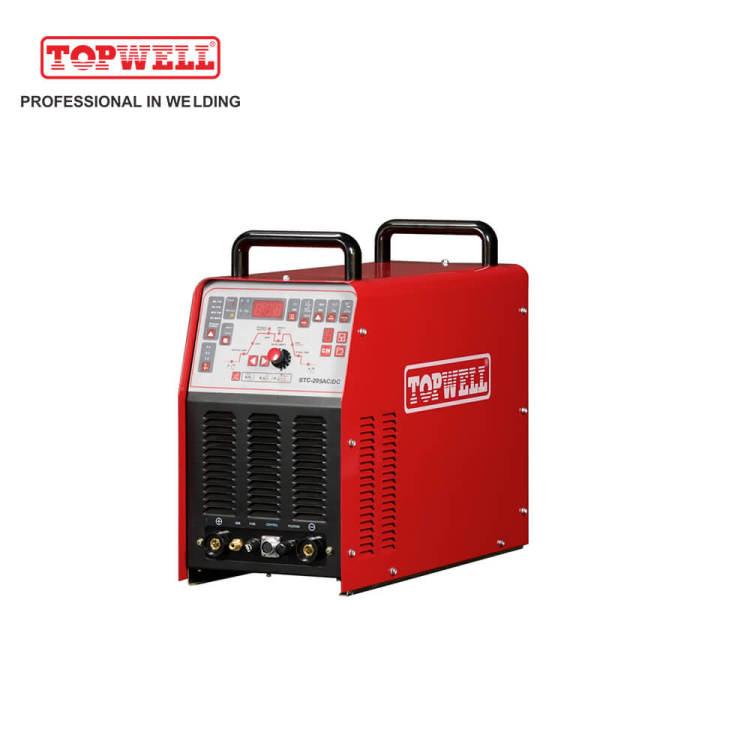 4 in 1 tig cut mma AC DC TIG welding machine STC-205AC/DC
