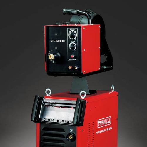 先进的mig mag脉冲电机,配有重型MIG-500HD