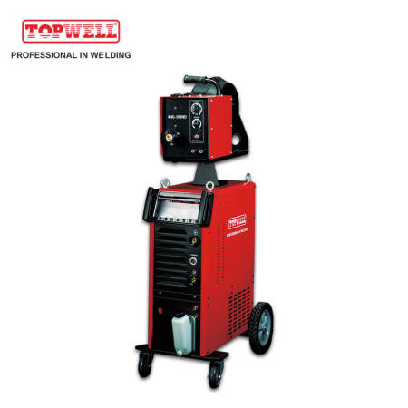 Topwell heavy industrial pulse mig mag mma welding machine