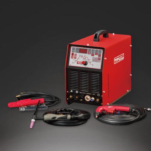 Topwell 3 in 1 solar inverter welding machine 200amp plasma Cutting STC-205Di