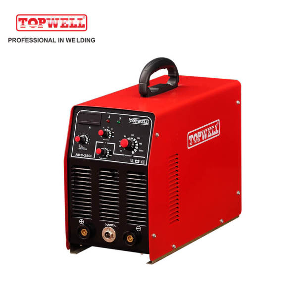 Portable DC inverter IGBT MMA /ARC 250 amp welding machine