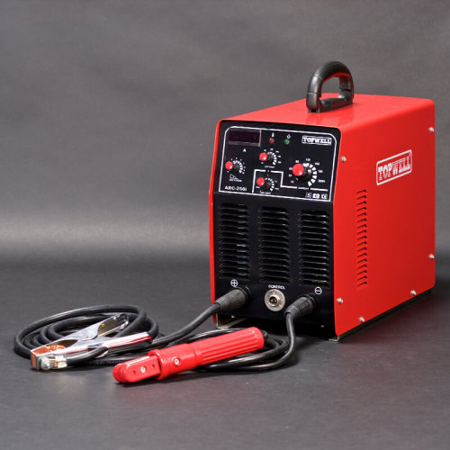 อินเวอร์เตอร์ DC แบบพกพาเครื่องเชื่อม IGBT MMA / ARC 250 amp