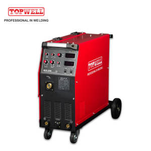 topwell 250A Three phase MIG-250Y Inverter IGBT Technology Other Arc Welder MIG/MAG/MMA CO2 Welding Machine  mig-250i