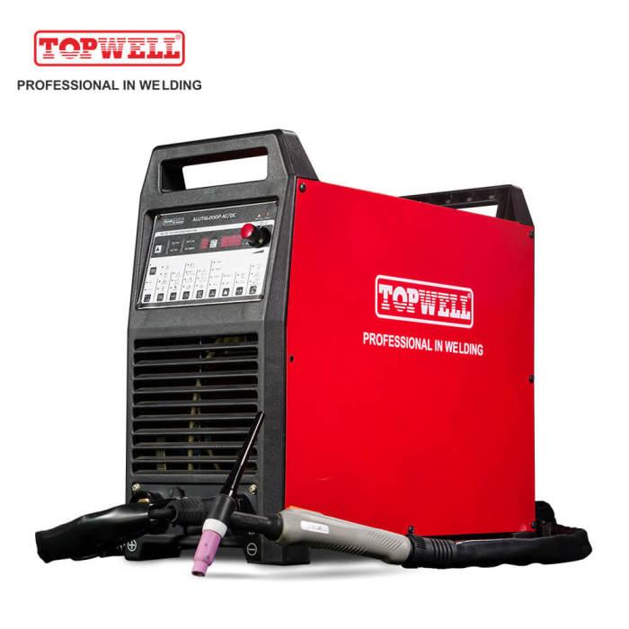Topwell Ac Dc Tig Welding Machine Aluminium Pulse Welder Alutig 200p Topwell