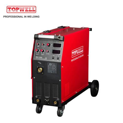 变频器mig焊机4辊送丝机多工艺MIG-300i焊机