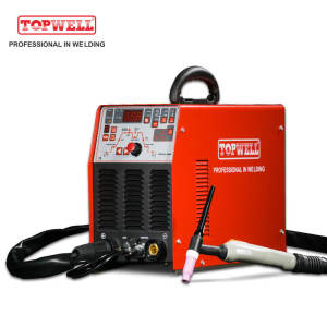 TOPWELL ideal DC TIG welding machine PROTIG-250Di with pulse control system
