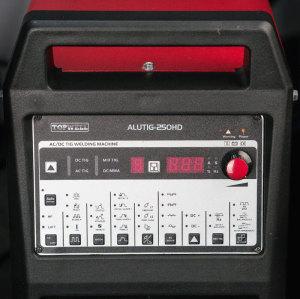 焊接机TIG Arc AC DC Pulse 200 IGBT ALUTIG-250HD。