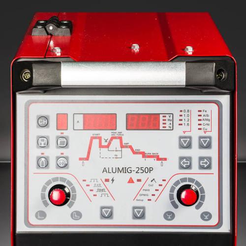 アルミニウムダブルパルスミグ溶接機ALUMIG-250P