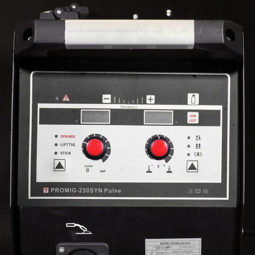 soudeuse compacte mig double pulse PROMIG-250SYN PULSE