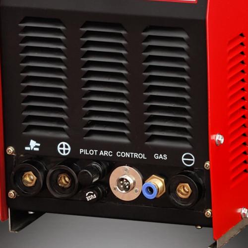 3 dans 1 machine de soudeuse d'inverseur solaire 200amp plasma STC-205Di de coupe
