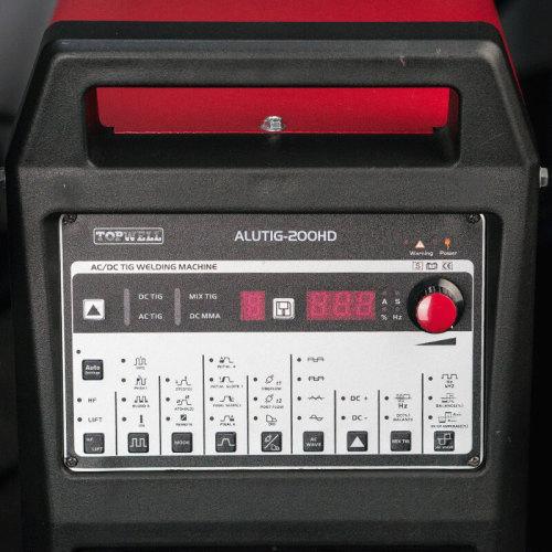 알루미늄 용접 용 휴대용 AC / DC TIG 용접기 ALUTIG-200HD