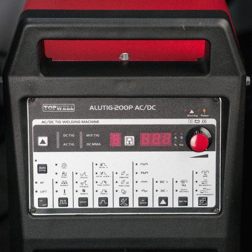 AC DC TIG 알루미늄 인버터 용접기 ALUTIG-200P