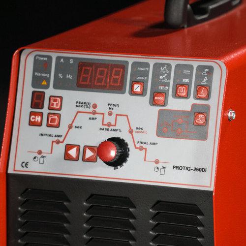 Hochleistungsimpuls-DC-WIG-Schweißgerät PROTIG-250Di