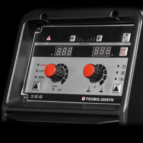 시너지 알루미늄 미니 mig 용접기 PROMIG-200SYN Pulse