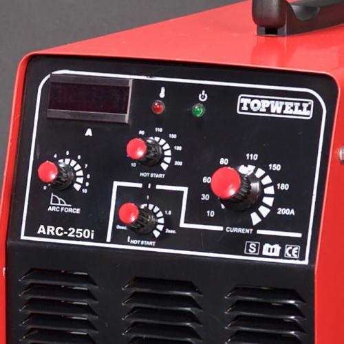 ポータブルDCインバータIGBT MMA / ARC 250アンペア溶接機