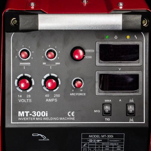 4 롤 와이어 피더 MIG TIG 용접기 MT-300i