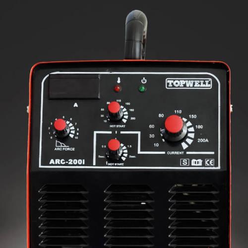 휴대용 용접기 단일 펄스 MMA ARC-200i