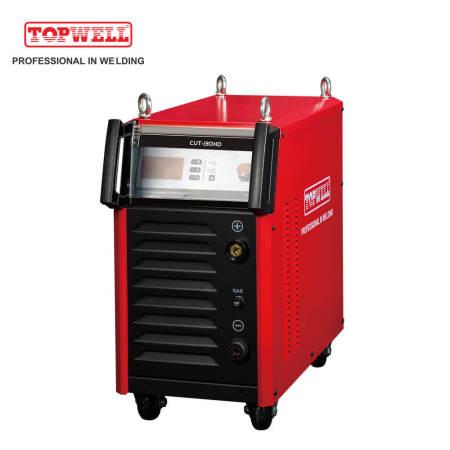 высокопроизводительный цикл TOPWELL инвертор-IGBT плазменный резак CUT-130HD CNC