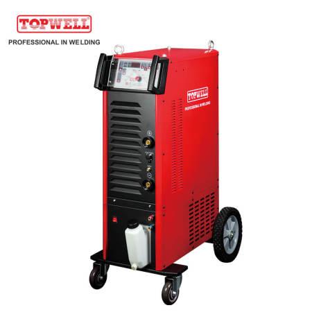 Topwell total solução ac dc tig máquina de solda MASTER TIG 400CT
