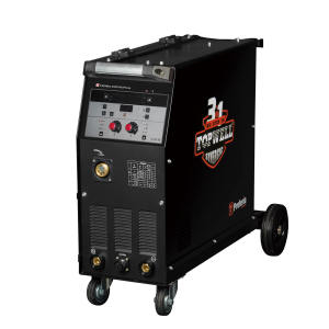 Synergic double pulse mig 250 mag welder with spot welding for aluminum industry PROMIG-250SYN DPulse