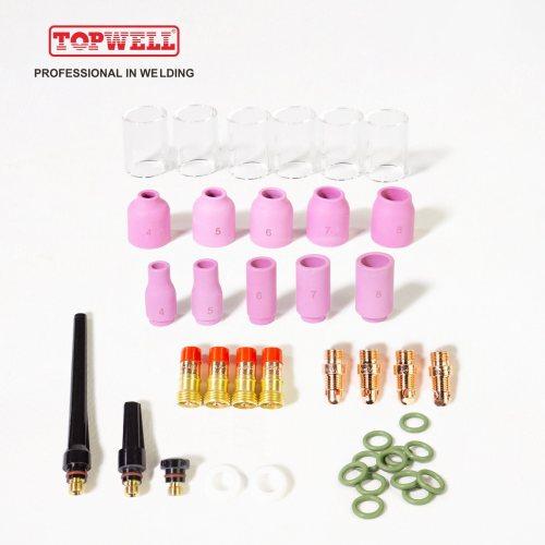 TIG17 TIG18 TIG26焊枪专用的TIG焊炬耗材套件