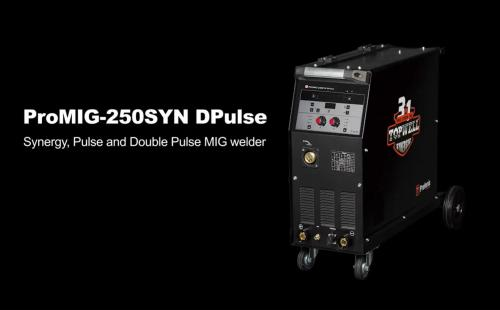 LEARN How to Double Pulse MIG Weld 3.0mm Aluminum  By ProMIG-250SYN DPulse