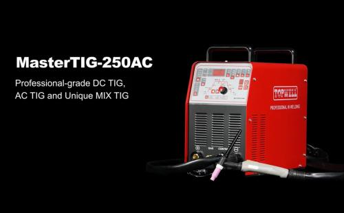 LEARN How to MIX TIG Weld 3mm Aluminum  by MasterTIG-250AC