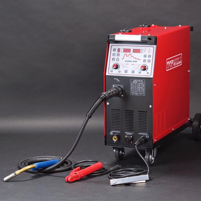 250 amp pulse mig welder for ALUMINUM welding ALUMIG-250P