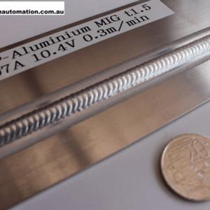 Aluminum MIG Welding