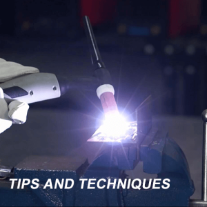 What are the best settings to tig welding aluminum on DCEN?