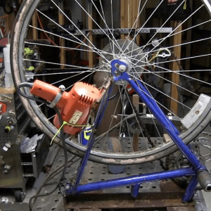 DIY Welding Lathe made from old bike...plus a Better one