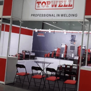 In Shanghai:booth finished.