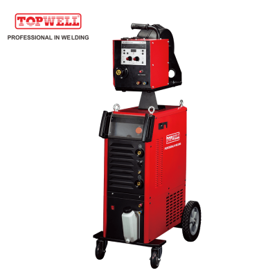 high-speed pulsed MIG 350 double pulse welder machine synergy mig welding