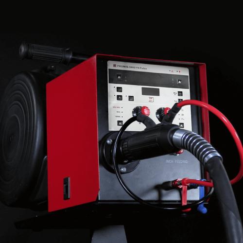 重型350 amp mig焊机mig弧焊机PROMIG-350SYN Pulse
